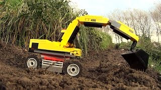 Lego City 4203 Excavator Transporter stopmotion