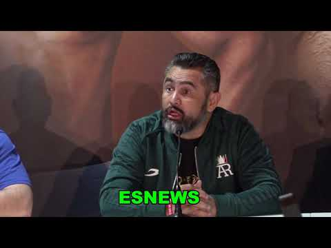 Andy Ruiz And His Coach Reaction To Joshua Hit And Move Gameplan  EsNews Boxing
