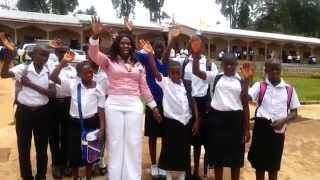 Vicky Ngamsha's Library for St Francis Comprehensive College Shisong 2015
