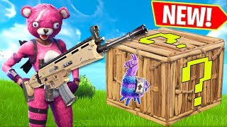 NEW LUCKY LLAMA GAME!!! - Fortnite Battle Royale