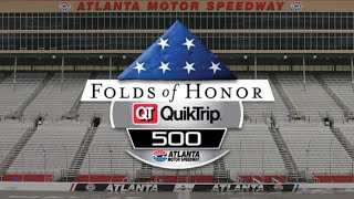 NASCAR CUP SERIES - RACE 10/36 - FOLDS OF HONOR QUIKTRIP 500