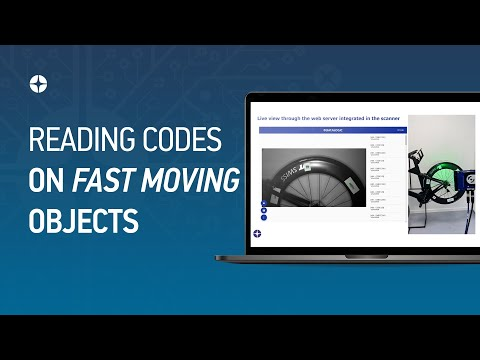 Matrix 320 - Reading codes on fast moving objects