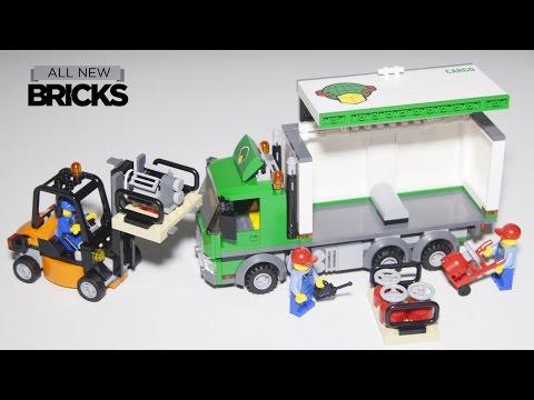Vidéo LEGO City 60020 : Le camion de marchandises