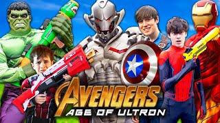 Avengers Age Of Ultron - Fun Kids Parody