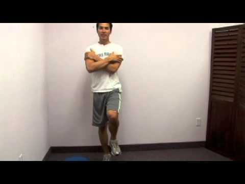 Ankle Balance Exercise