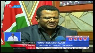 Wiper Leader Kalonzo Musyoka appears on IEBC presidential list as a flag bearer