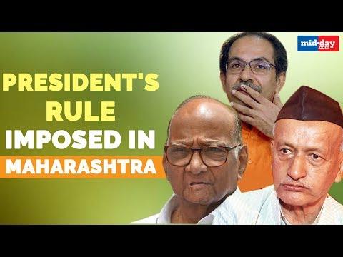 Is Maharashtra heading for President's rule?