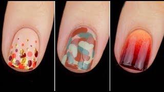 5 Quick Easy Fall Nail Art Designs    KELLI MARISSA