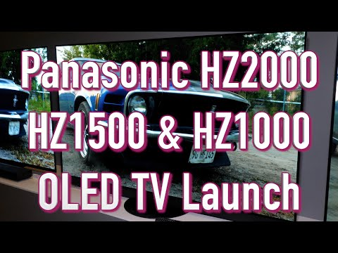 External Review Video mxMh0CshOaY for Panasonic HZ2000 OLED 4K TV