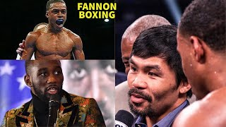 ERROL SPENCE SNAPS ON PACQUIAO FOR DUCKING, BOXING MEDIA ASK MANNY TO AVOID TERENCE CRAWFORD FIGHT!!