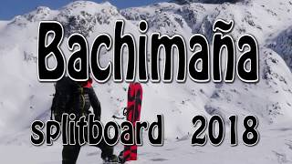splitboard en bachimaña