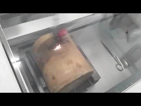 Incisione secchiello porta ghiaccio