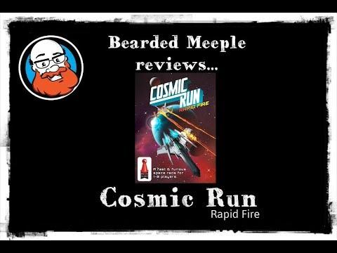 Bearded Meeple reviews : Cosmic Run: Rapid Fire