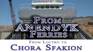 Return by ferry is Chora Sfakion