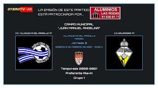 R.F.F.M. - PREFERENTE ALEVIN - Jornada 8 (Grupo 1) - F.C. Villanueva del Pardillo 4-1 C.D. Galapagar