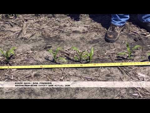 White Planters row crop planting seeding accuracy and singulation comparison