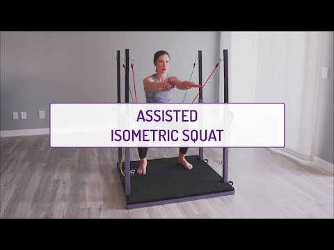 Assisted Isometric Squat