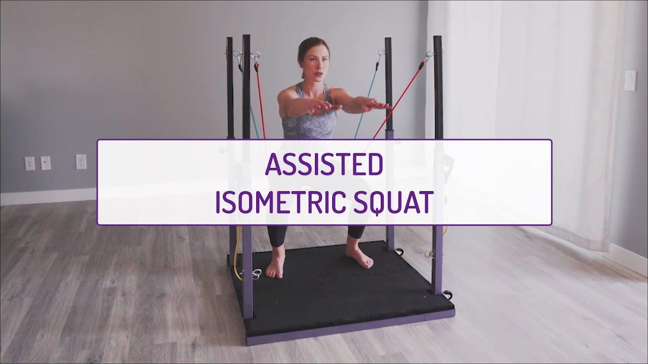 Assisted Isometric Squat