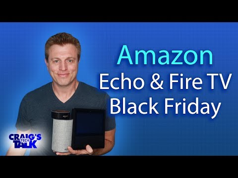 Amazon Black Friday Deals on Echos, Fire TV and Fire HD Tablets