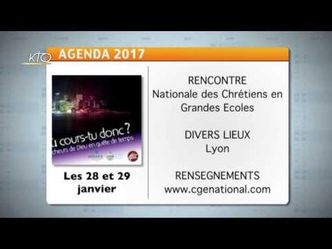 Agenda du 23 janvier 2017