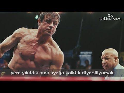 Sylvester Stallone'un Motivasyon Konuşması!