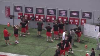 Back and Forth Shuffle plus Strike with The Ohio State Buckeyes O-Line