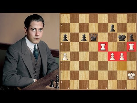 When The Strongest Move Just isn't Enough | Janovsky vs Capablanca || New York (1918)