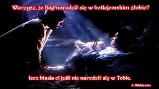 Dziecię się nam narodziło... Bóg z nami!