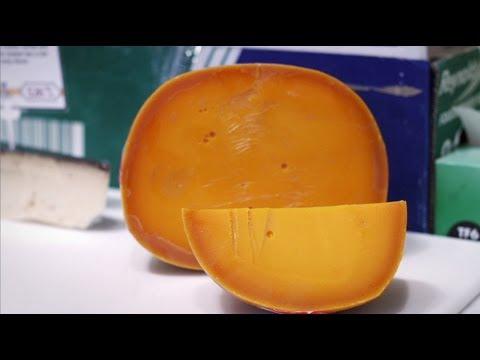 pourquoi la mimolette orange