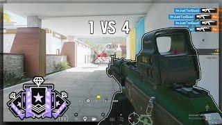 INSANE Match Point Clutches: Xbox Diamond - Ranked Highlights - Rainbow Six Siege Gameplay