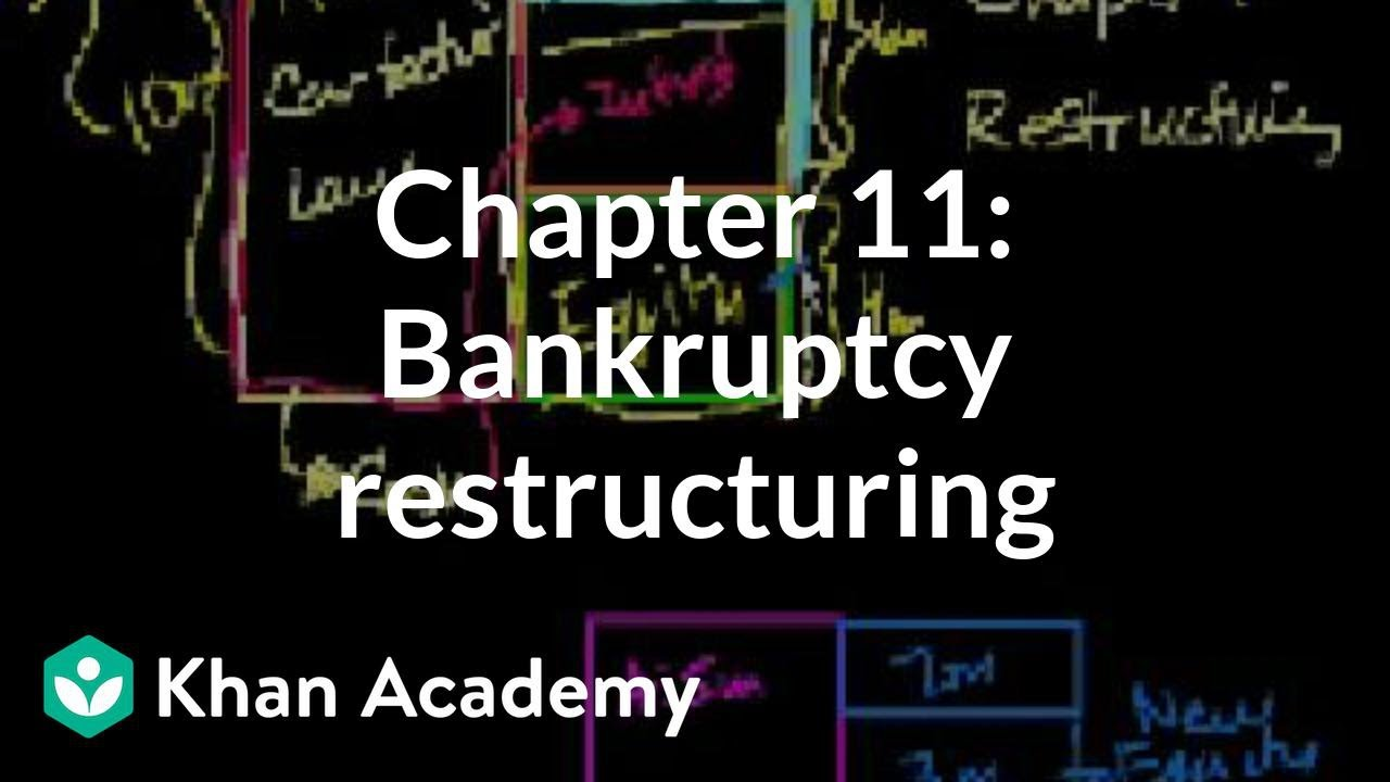 Chapter 11: Personal bankruptcy reorganizing|Stocks and bonds|Financing & Capital Markets|Khan Academy