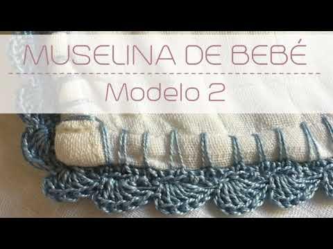 Gasa de bebé con crochet ♥  Laura DIY