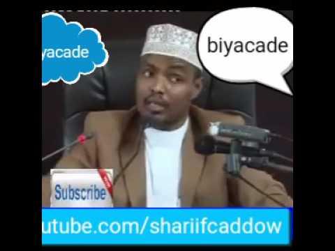 Shiikh Xasaan oo xaqiiqda ka hadlay durayna wahabi