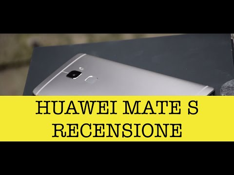 Huawei Mate S, video recensione