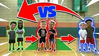 2HYPE Rotating 2v2 King of the Court NBA Basketball Challenge!!