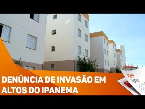 Denúncia de invasão em Altos do Ipanema - TV SOROCABA/SBT