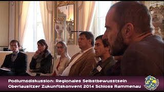 preview picture of video 'Oberlausitzer Zukunftskonvent 2014 Schloss Rammenau- Podiumsdiskussion'