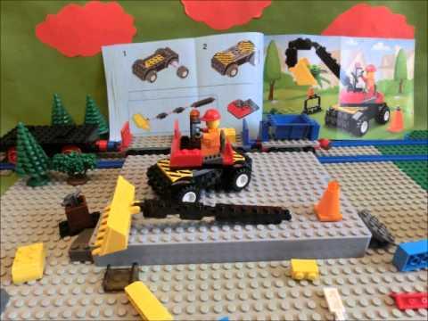 Vidéo LEGO Juniors 10657 : Mon premier ensemble chantier