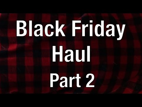Black Friday Haul Part 2! Karmaloop | Elwood The Extra Long Side Zipper Buffalo Plaid Flannel in Red