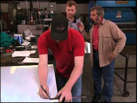 Fabricating Stainless Steel Kitchen Countertops