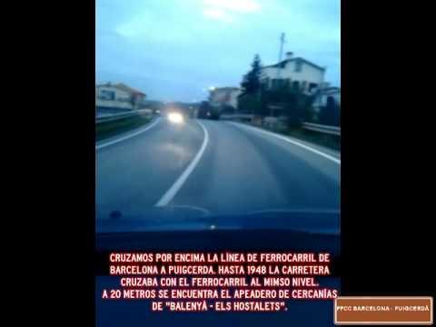 N-152 - TRAVESIA DE ELS HOSTALETS DE BALENYÀ