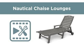 POLYWOOD® 2280 Nautical Chaise Lounge Assembly Video