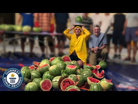 How Many Watermelons Can You Slice Off Someones Head?