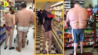 People Of Walmart You Won't Believe Actually Exist 2017 !!