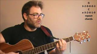 """How to play """"The Ballad of Jayne"""" by L.A. Guns on acoustic guitar"""