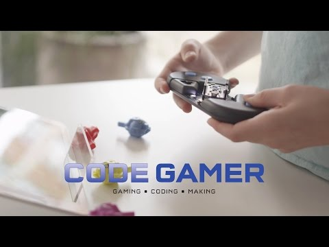 Youtube Video for Code Gamer - Learn to Code