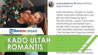 Andrea Dian Beri Ucapan Ulang Tahun Romantis untuk Ganindra Bimo Meski Masih Dirawat di Rumah Sakit