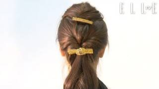【ELLE TV JAPAN】Japanese Lady Office HairStyle Tutorial No 3.