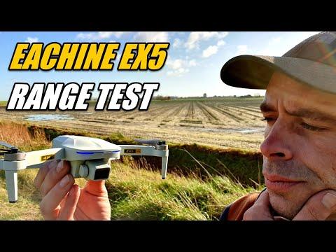 Eachine EX5 Range Test With Stock TX Transmitter and Test FPV Range