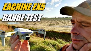 Eachine EX5 Range Test With Stock TX Transmitter and Test FPV Range
